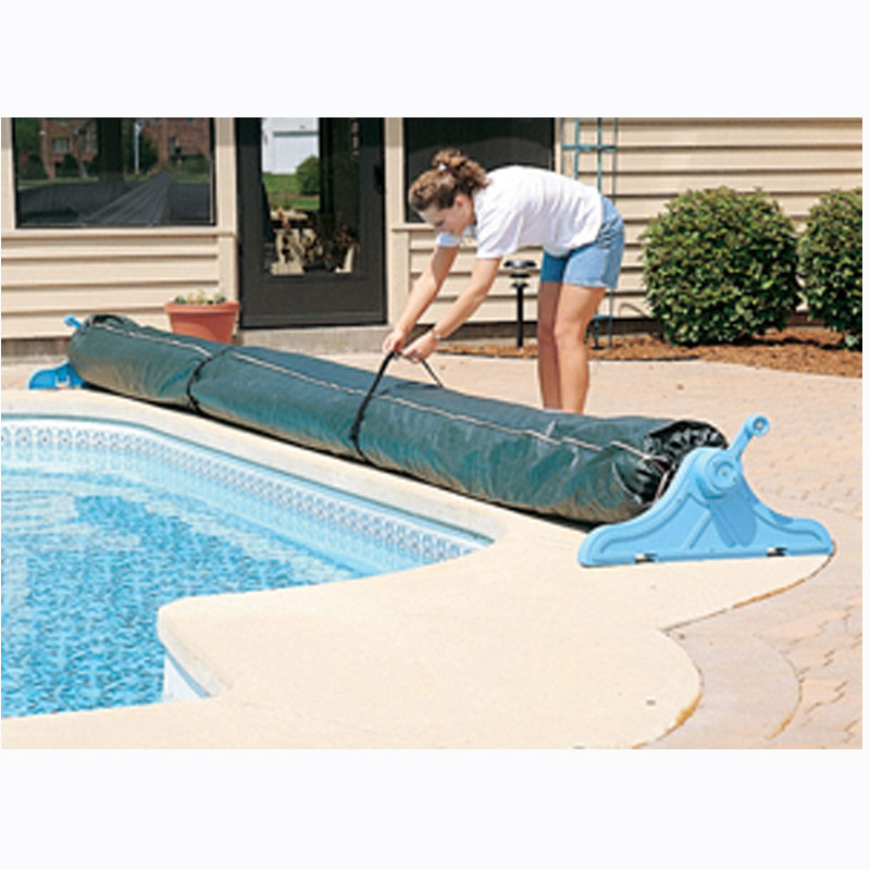 Protective Winter Cover For Swimming Pool Solar Blanket Reel Roller Up To 16/' W