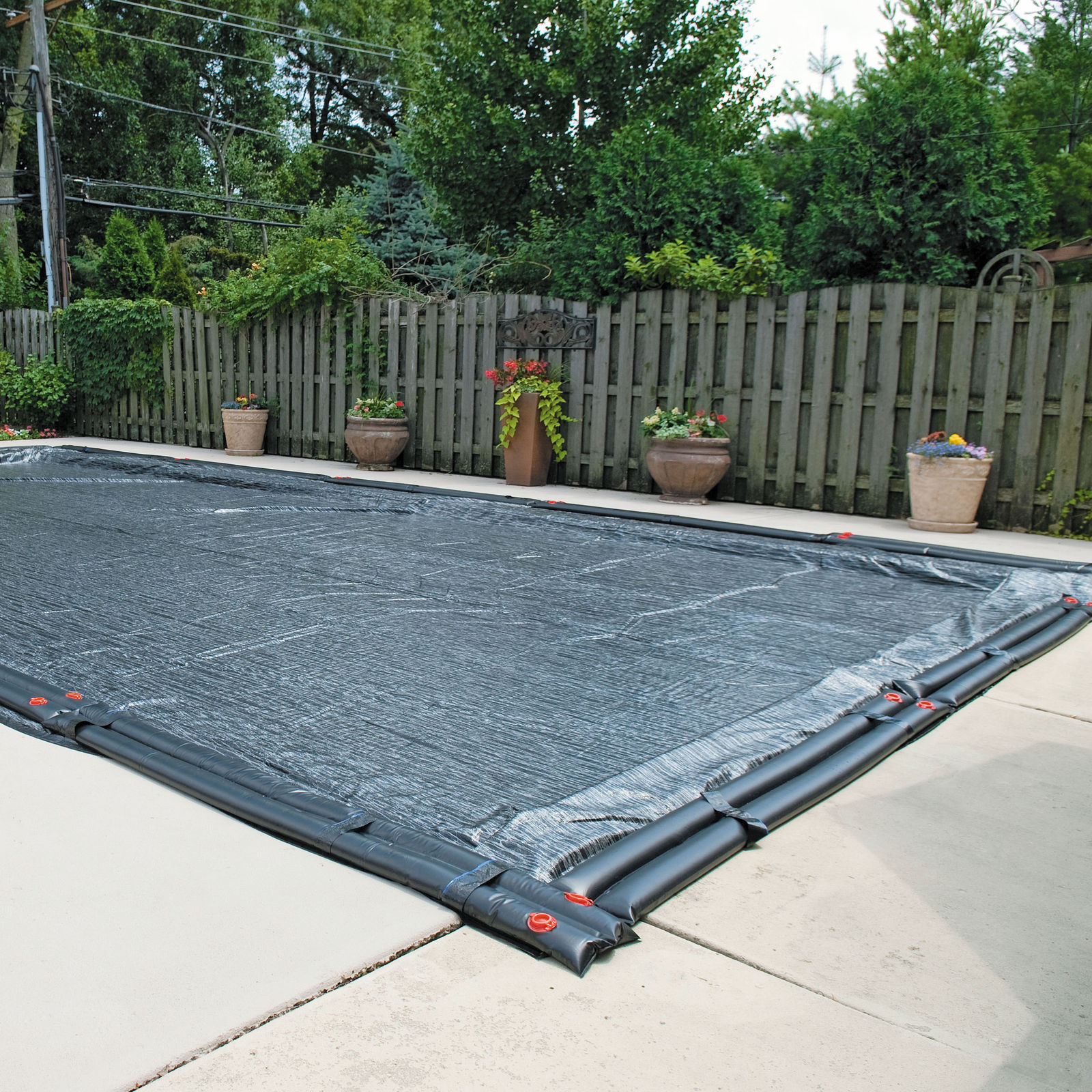 20 Ft X 40 Ft Rectangle Micro Mesh In Ground Swimming Pool
