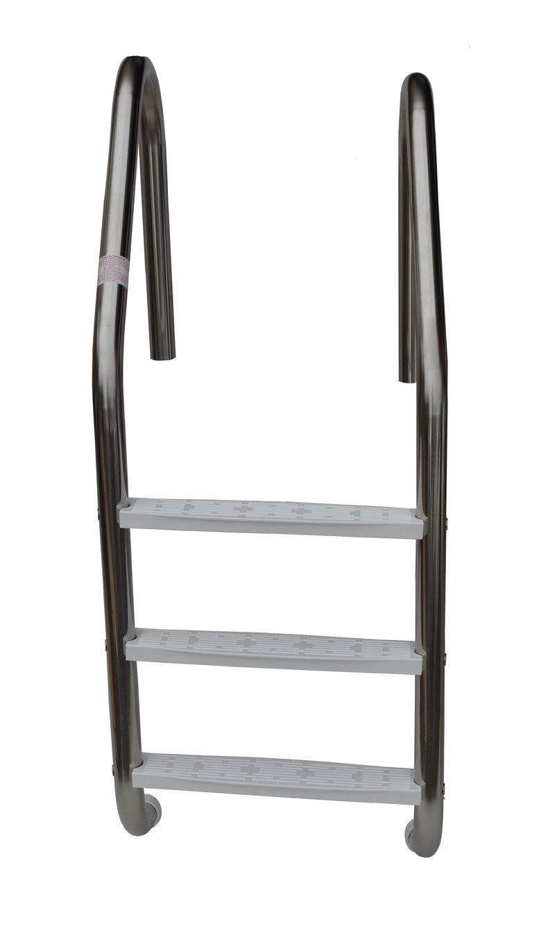 Details about Interfab 3-Step Stainless Steel Inground Swimming Pool Ladder  L3E 049 P W