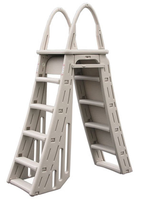 Details about Confer Guard A-Frame Above Ground Swimming Pool Ladder for  Pools 48-56\