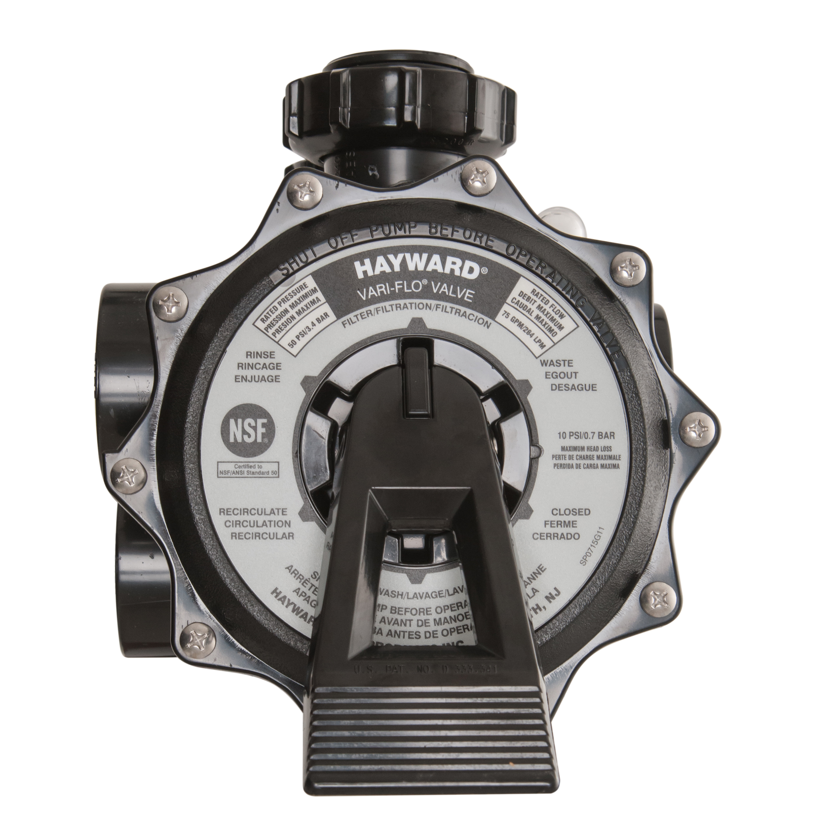 Hayward Sp0715x62 2 Quot Multiport Valve For Pro Series