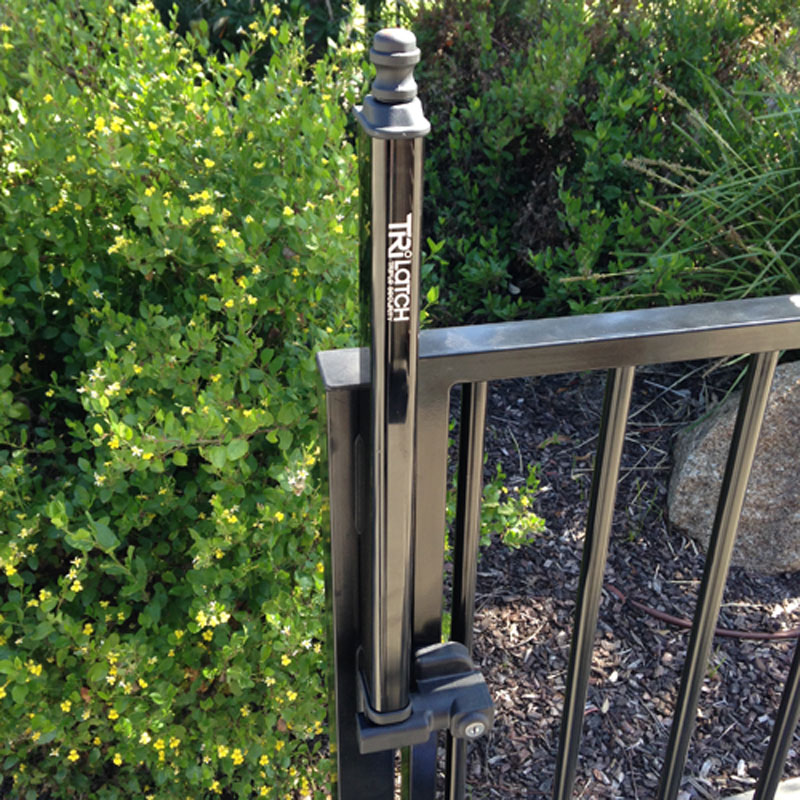 Details about SafeTech TriLatch Self-Closing Hinges For Swimming Pool Fence  Gate SL-50TRI