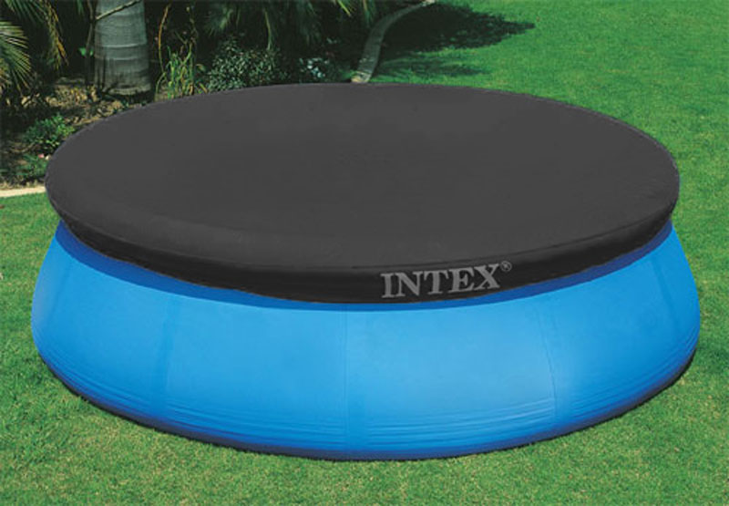 Details about Intex 12\' Round Swimming Pool Easy Set Pool Debris Cover  28022E - Color May Vary