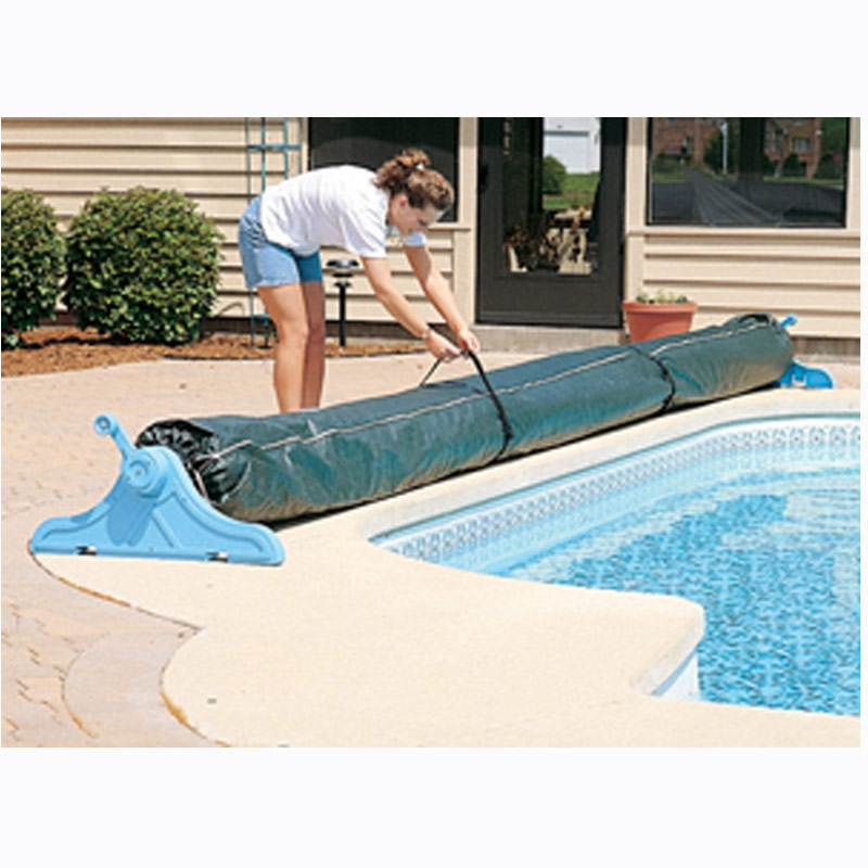 Details about Swimming Pool Winter Solar Blanket Cover for Reel 16 Ft