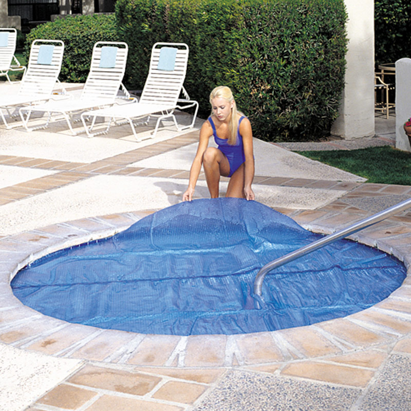 8-039-x8-Ft-Square-Spa-amp-Hot-Tub-Thermal-Solar-Blanket-Cover-15-Mil